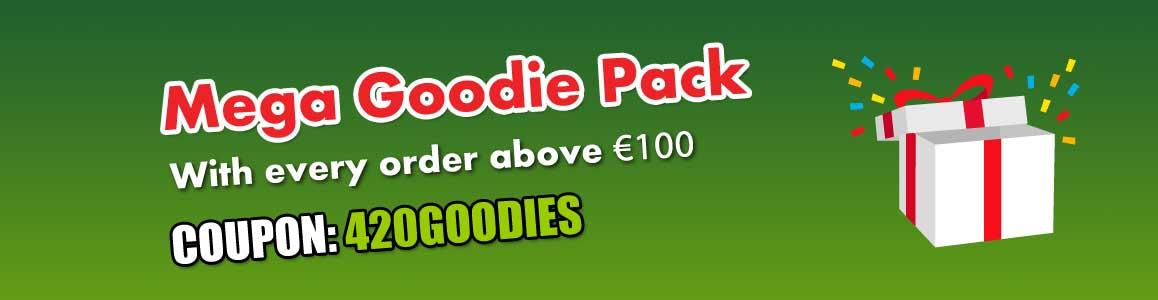Free 420 Mega Goodie Pack