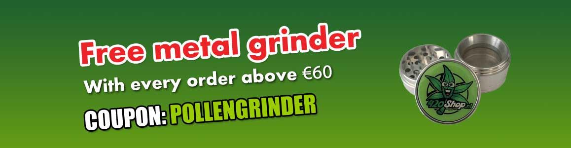 Free 420 Metal Grinder