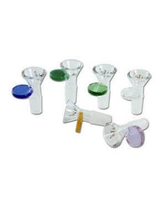 Glazen Bowl Gekleurd Handvat