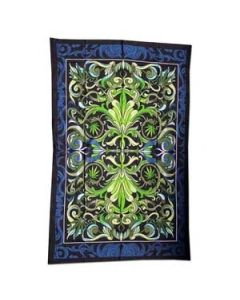 Tapestry Big Cannabis Leaf