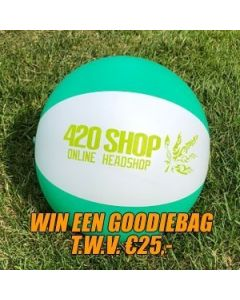 420 Strandbal (Win een goodiebag t.w.v. €25,-)