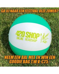 420 Strandbal (Win een goodiebag t.w.v. €25,-)