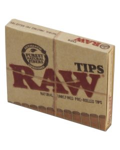 Raw Pre-Rolled Filtertips
