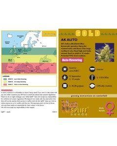 AK Autoflower Feminised Spliff Seeds