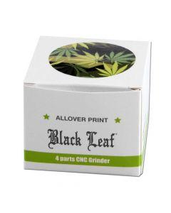 Black Leaf Camouflage Grinder