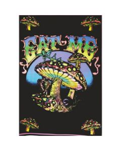 Blacklight Poster Eat Me