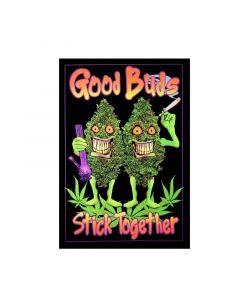 Blacklight Poster Good Buds