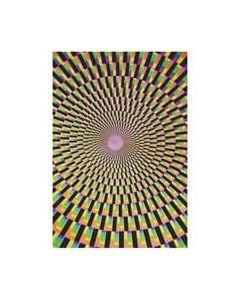 Blacklight Poster Optical Illusion