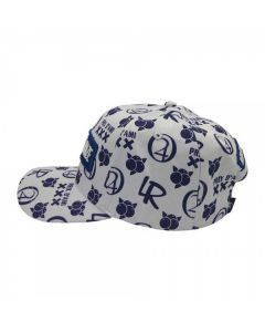 Blueberry Haze Strapback Cap