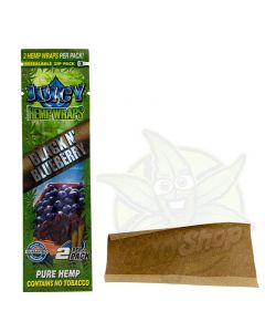 Juicy Jay Hemp Blunt Blueberry / Blackberry
