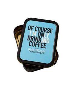 Sigarettendoosje Drinking Coffee