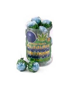 Blueberry Cannabis Lollypop