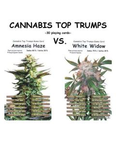 Cannabis Top Trumps Card Game