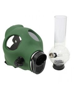 Gas Mask Bong (Green of Black)