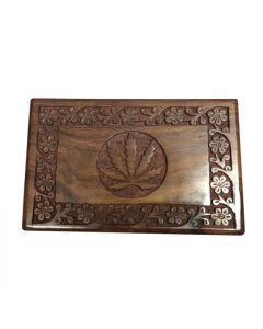 Kavatza Roll Box Cannabis Blad