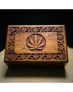 Kavatza Roll Box Cannabis Blad