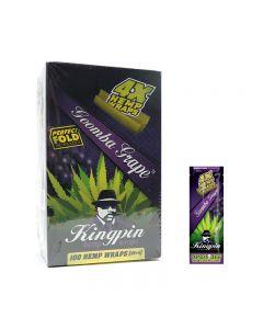 Kingpin Grape Hemp Wraps