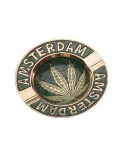 Brass Ashtray Amsterdam