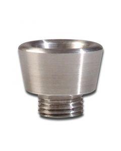 Metalen Bowl met Shroefdraad