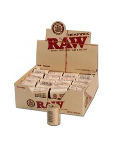 RAW Hemp Wick Rolls