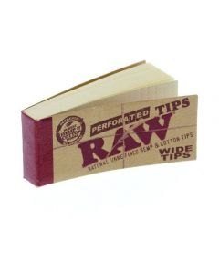Raw Wide Perforated Filtertips
