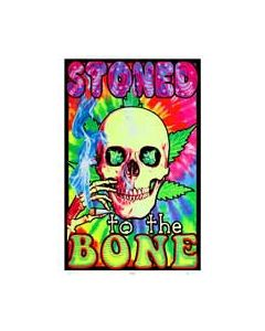 Blacklight Poster Stoned to the Bone