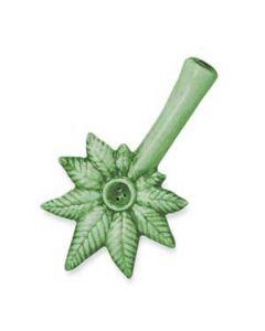 Ceramic Weed Pipe Leaf