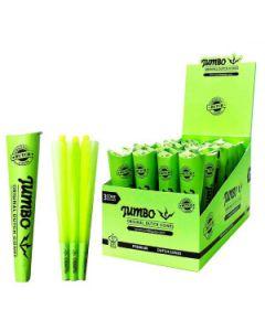 Jumbo Kingsize Green Cones