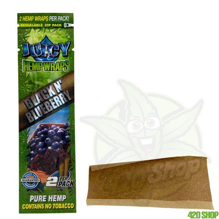 Juicy Jay Hemp Blunt Blueberry / Blackberry