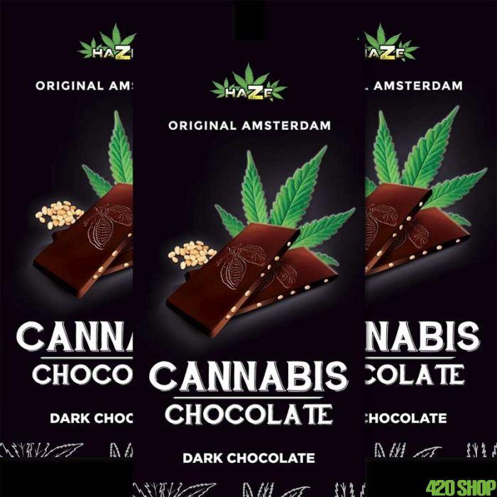 Cannabis Chocolade Puur
