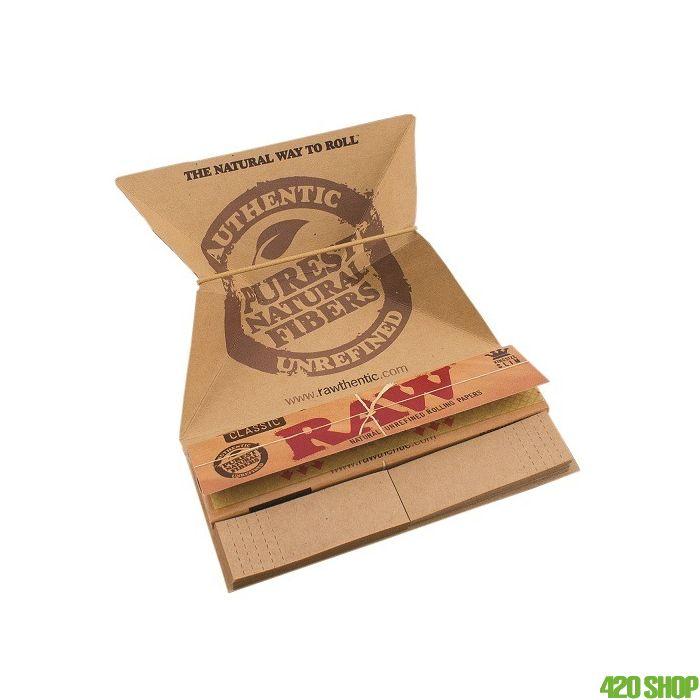 RAW Artesano Tray, Slim Papers +Tips