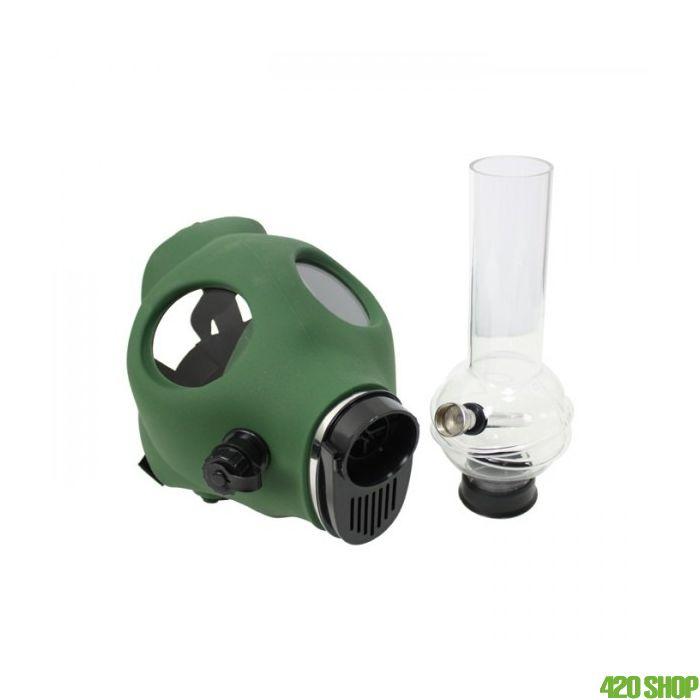 Gasmasker Bong Groen
