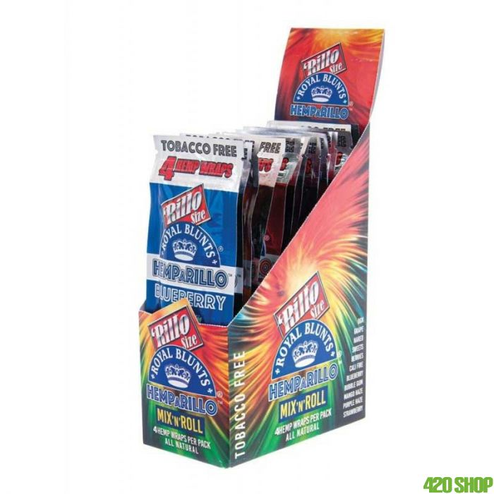 Hemparillo Hemp Wrap Mixed Box
