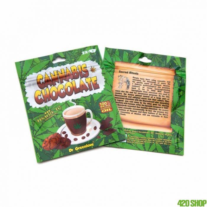 Cannabis Chocolademelk