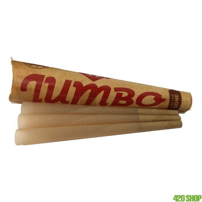 Jumbo Natural Cones