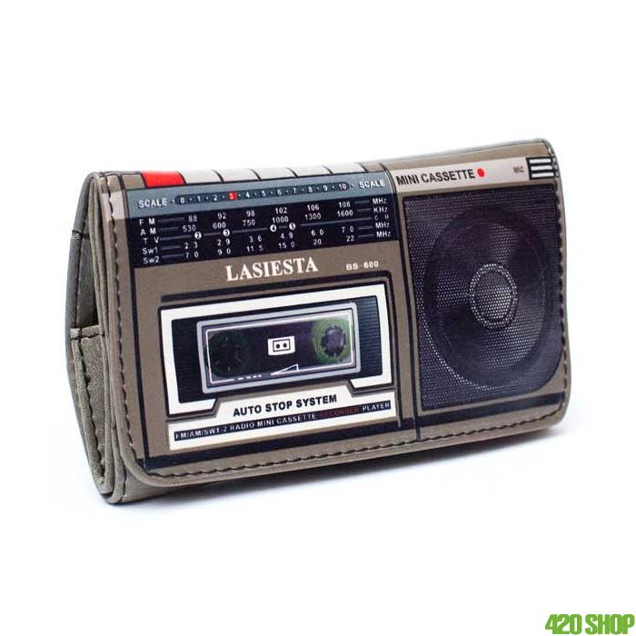 Tobacco Pouch Cassette Player