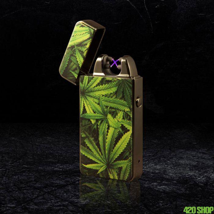 Plasma USB Aansteker Cannabis