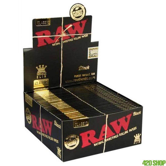RAW Black Ultra Thin Rolling Paper