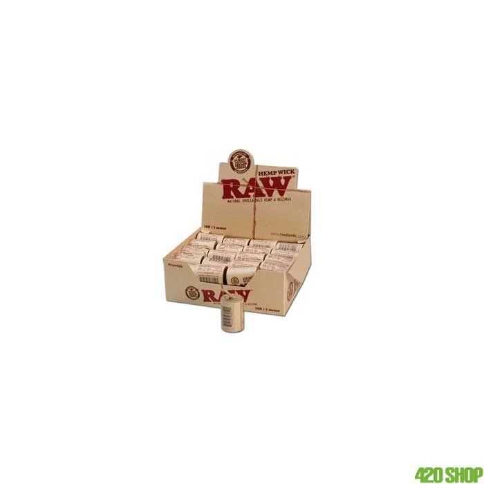 RAW Hemp Wick Rolls