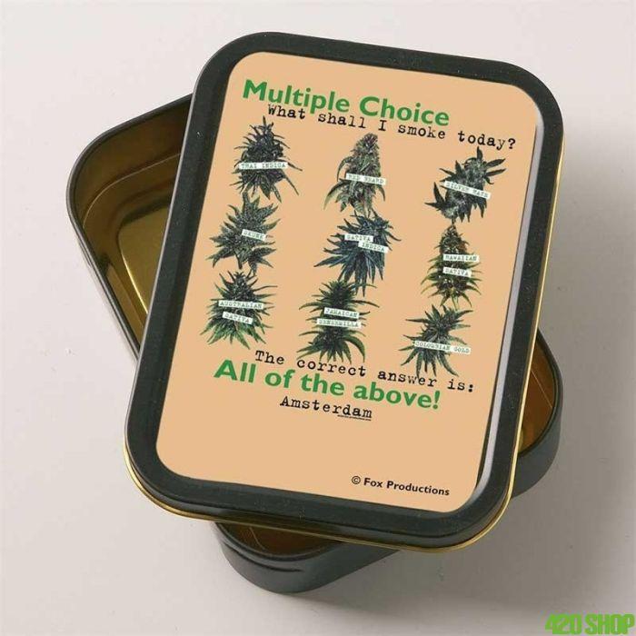 Sigarettendoosje Cannabis Choice