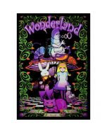 Blacklight Poster Alice In Wonderland