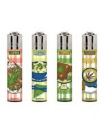 Clipper Lighters Food Leaves