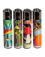 Clipper Lighters Mushrooms