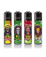 Clipper Lighters Rastaman