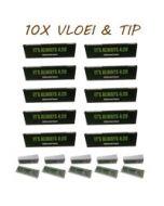 Ongebleekte Vloei en Tip 420 Pack