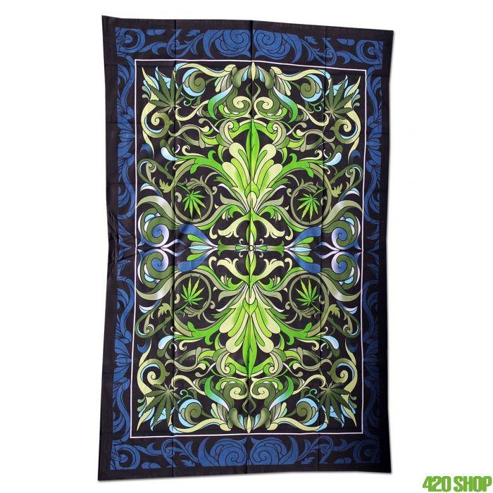 Tapestry Big Cannabis Leaf