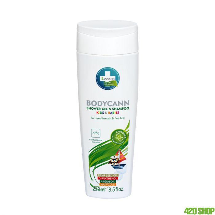 Annabis Bodycann Kids Shower Gel+Shampoo