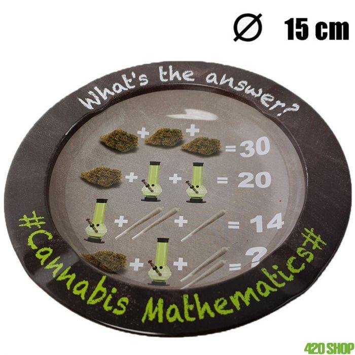 Asbak Cannabis Mathematics (15CM)