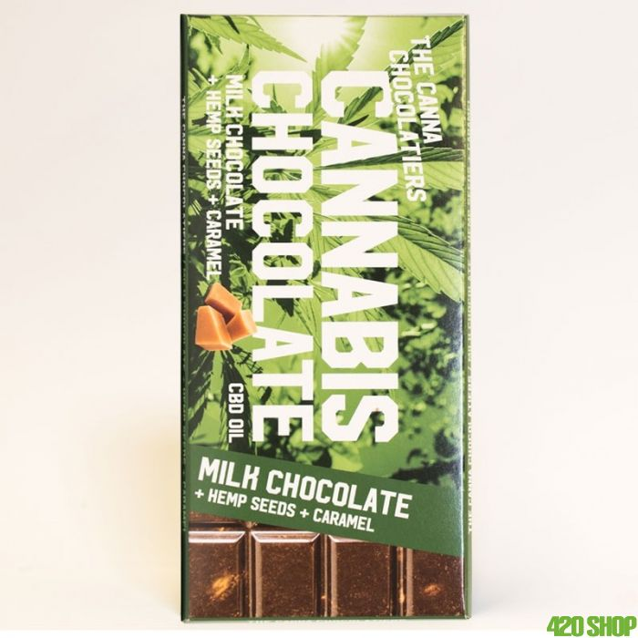 Cannabis Chocolade Karamel