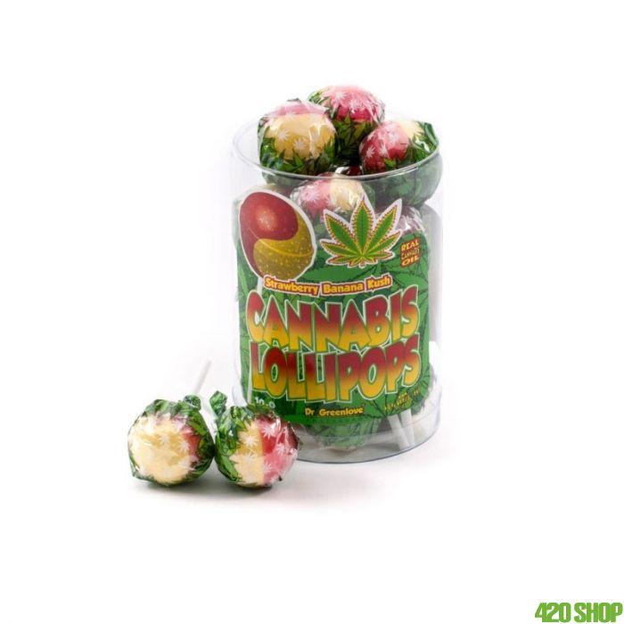 Wiet Lolly Strawberry Banana Kush
